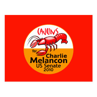Melancon CAJUNS 2010 Postcard