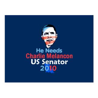 Melancon Senate 2010 Postcard
