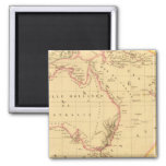 Melanesia 2 Inch Square Magnet