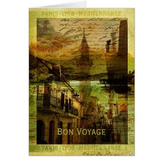 Mélange mediterráneo tarjeta de felicitación