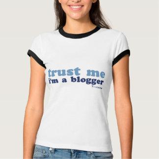 Melange Ringer T's (Trust Me) T-Shirt