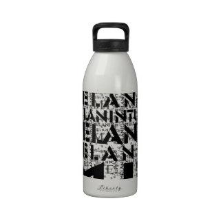 Melanic junta con te la selva concreta Coolection Botellas De Agua Reutilizables