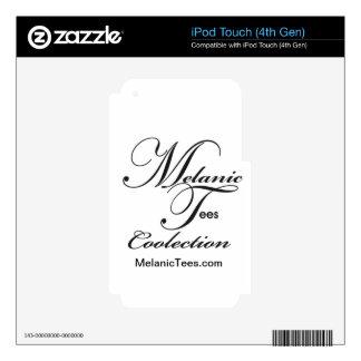 Melanic junta con te totales iPod touch 4G skins