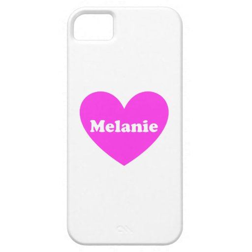 Melanie iPhone 5 Case-Mate Protector