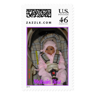 Melanie Postage Stamp