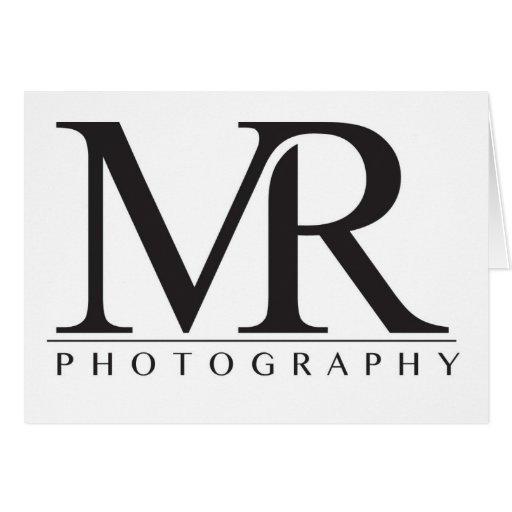Melanie Ramiro Photography (block logo) Card