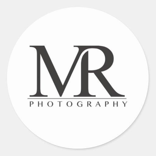 Melanie Ramiro Photography (block logo) Stickers