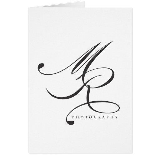 Melanie Ramiro Photography (cursive) Card