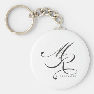 Melanie Ramiro Photography (cursive) Keychain