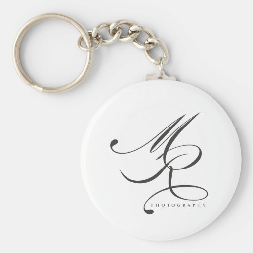 Melanie Ramiro Photography (cursive) Keychains