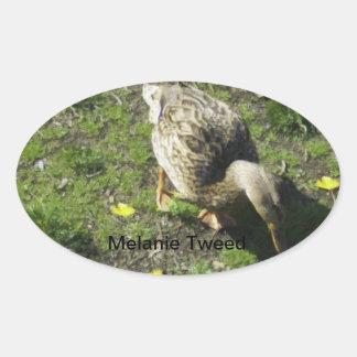 Melanie Tweed Sticker