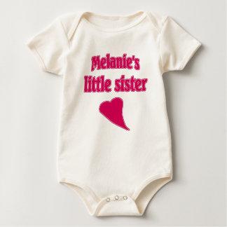 Melanie's Little Sister Baby Bodysuit