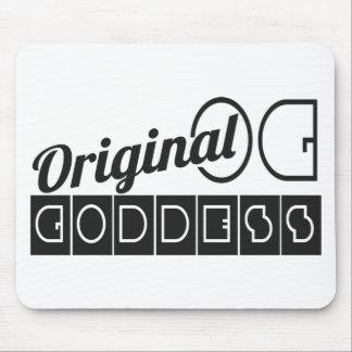 Melanin Inspired, Melanic OG Original Goddess Mouse Pad