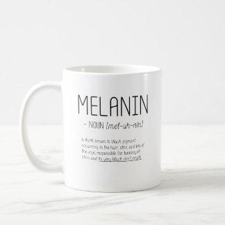 Melanin Noun (mel-uh-nin) Word Definition Coffee Mug
