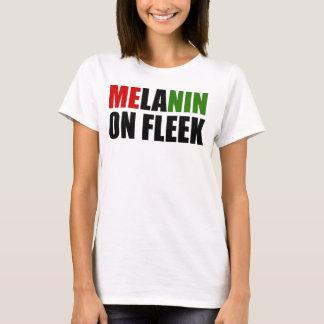 Melanin on Fleek RBG T-Shirt