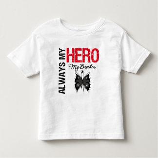 Melanoma Always My Hero My Brother Tee Shirts