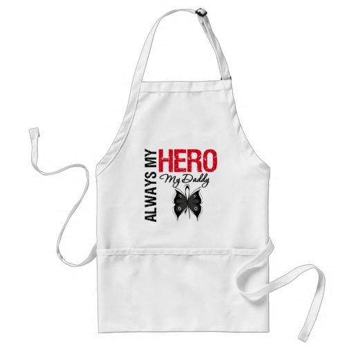 Melanoma Always My Hero My Daddy Aprons