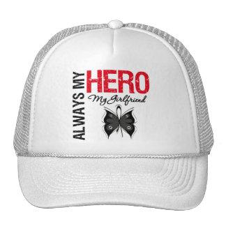 Melanoma Always My Hero My Girlfriend Mesh Hat