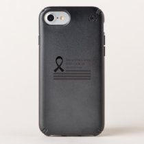 Melanoma And Skin Cancer Awareness  Fight Cancer Speck iPhone Case