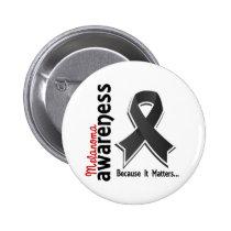 Melanoma Awareness 5 Pinback Button