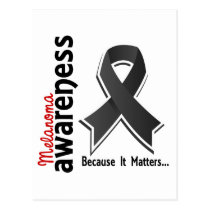 Melanoma Awareness 5 Postcard