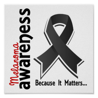 Melanoma Awareness 5 Poster