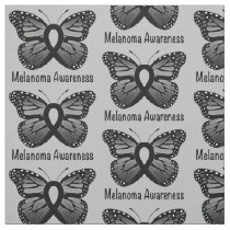 Melanoma Awareness: Butterfly Fabric