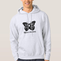 Melanoma Awareness: Butterfly Hoodie