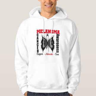 Melanoma Awareness Butterfly Hoodie