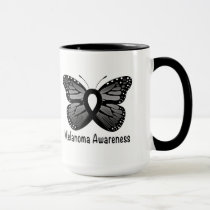 Melanoma Awareness: Butterfly Mug