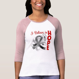 Melanoma Awareness I Believe in Hope T Shirt