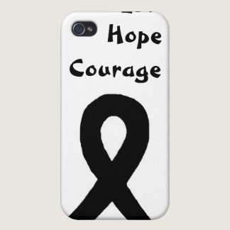 Melanoma awareness iPhone iPhone 4/4S Covers