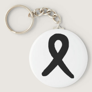 Melanoma awareness keychain
