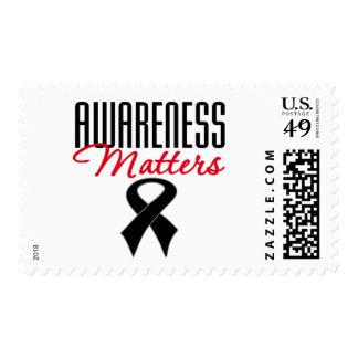 Melanoma Awareness Matters Postage