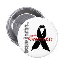 Melanoma Awareness Pinback Button