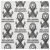 Melanoma Awareness: with Ribbon and Anchor of Hope Fabric