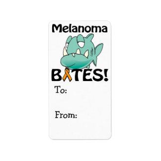 Melanoma BITES (orange) Label