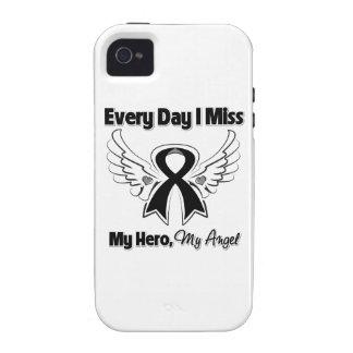 Melanoma cada Srta My Hero del día I Vibe iPhone 4 Carcasas