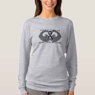 Melanoma Calm Ladies Nano Long Sleeve Shirt