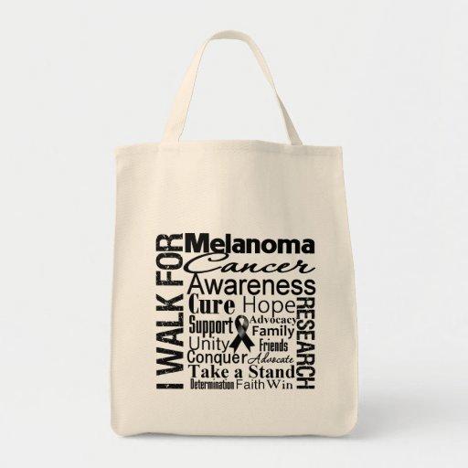 Melanoma Cancer Awareness Walk Bags