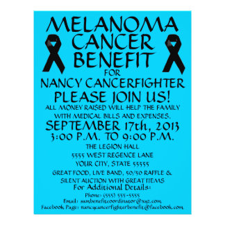 Melanoma Cancer Benefit Flyer