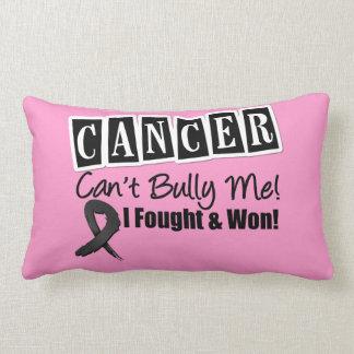 Melanoma Cancer Can't Bully Me...I Fought I Won Pillow