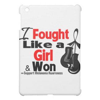 Melanoma Cancer I Fought Like a Girl and Won iPad Mini Cases
