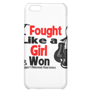 Melanoma Cancer I Fought Like a Girl and Won iPhone 5C Cover