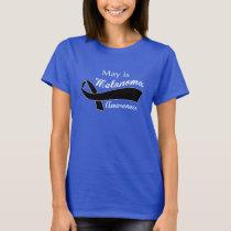 Melanoma cancer  - Melanoma awareness T-Shirt