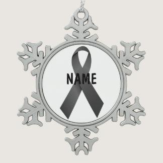 Melanoma Cancer Memorial Ornament