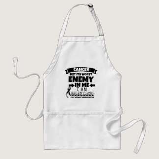 Melanoma Cancer Met Its Worst Enemy in Me Adult Apron