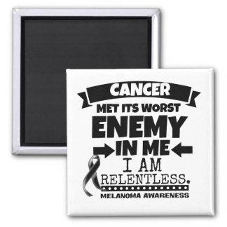 Melanoma Cancer Met Its Worst Enemy in Me Magnet
