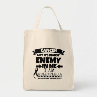 Melanoma Cancer Met Its Worst Enemy in Me Tote Bag