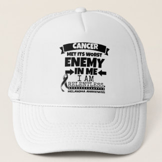 Melanoma Cancer Met Its Worst Enemy in Me Trucker Hat